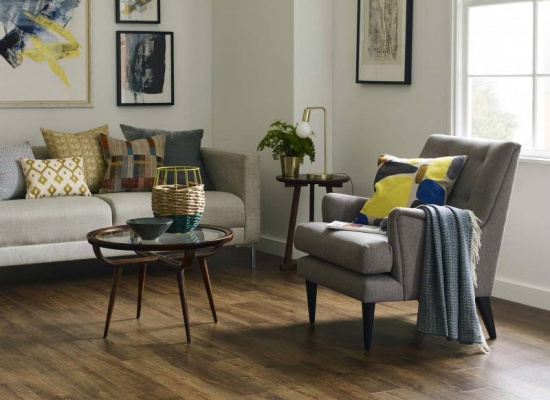 Living room Amtico wooden floor