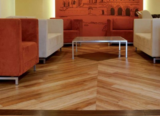 Washed Teak Flooring